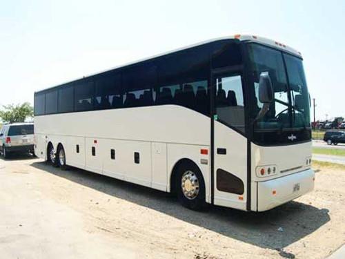 Des Moines 56 Passenger Charter Bus